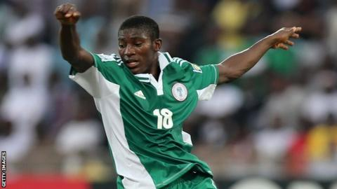 Nigeria under-17 striker Taiwo Awoniyi