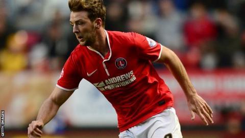 Charlton midfielder Dale Stephens