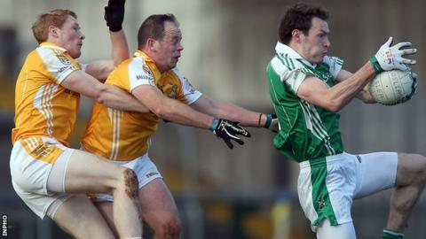 Fermanagh side Roslea beat Ballinagh by four points