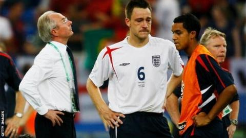 Sven-Goran Eriksson and John Terry