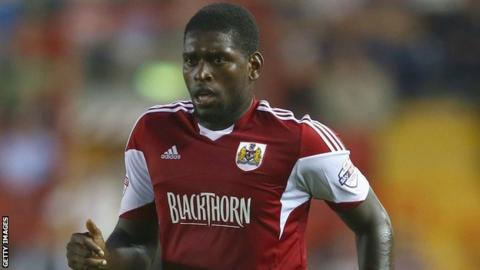 Bristol City striker Jay Emmanuel-Thomas
