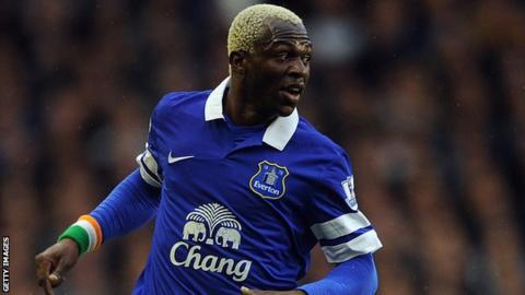 Everton striker Arouna Kone