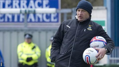 Inverness assistant manager Maurice Malpas