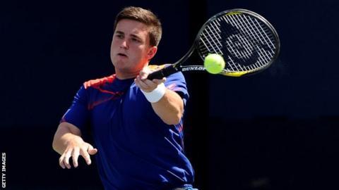 British wheelchair tennis player Gordon Reid