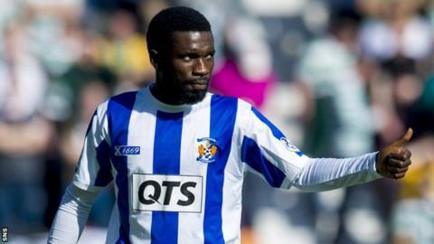 Kilmarnock midfielder Rabiu Ibrahim