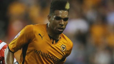 Wolves defender Scott Golbourne