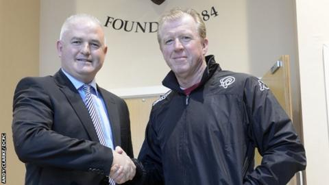 Chris Evans with Steve McClaren