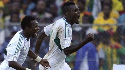 Emmanuel Emenike and Ogenyi Onazi (left)
