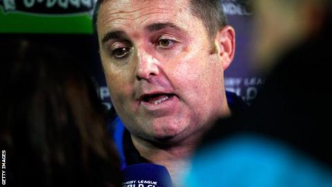 Scotland head coach Steve McCormack