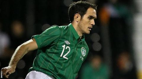 Republic of Ireland defender Joey O'Brien