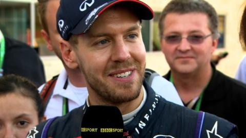 Sebastian Vettel discusses his record-breaking eighth consecutive grand prix victory