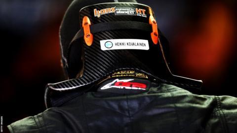 Heikki Kovalainen stood in for Kimi Raikkonen in Austin