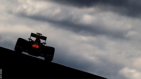 Sebastian Vettel at the Circuit of the Americas
