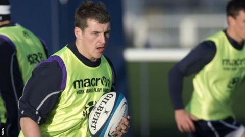 Glasgow Warriors centre Mark Bennett