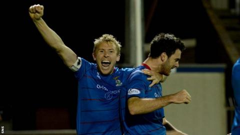 Inverness CT captain Richie Foran
