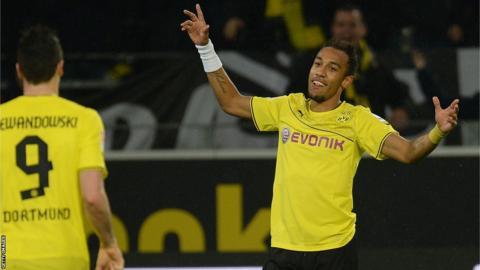 Borussia Dortmund forward Pierre-Emerick Aubameyang