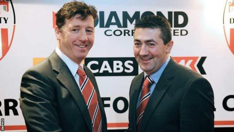 Roddy Collins and Peter Hutton