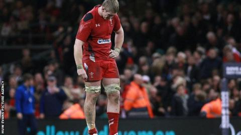 Wales lock Bradley Davie