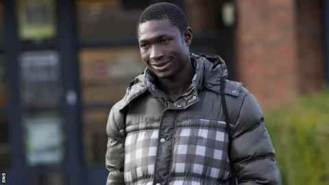 Kilmarnock midfielder Reuben Gabriel