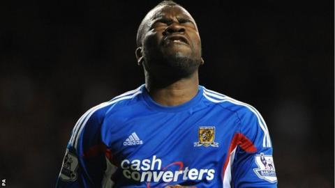 Hull City striker Aaron McLean