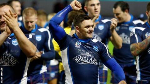 Scotland half-back Danny Brough