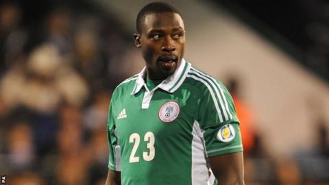 Nigeria striker Shola Ameobi