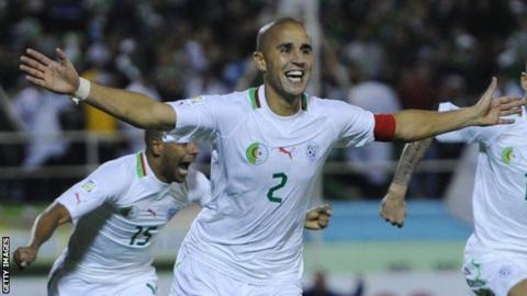 Algeria's Madjid Bougherra