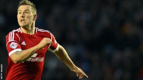 Simon Cox scored Nottingham Forest's equaliser against Burnley