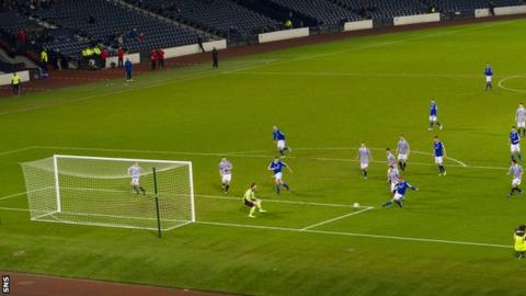 Queen's Park v Peterhead