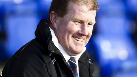 Inverness CT caretaker manager Duncan Shearer