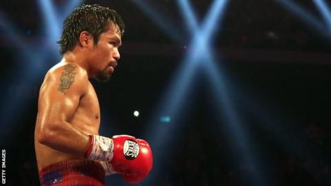 Manny Pacquiao: I'm ready to fight Floyd Mayweather