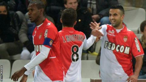 Mouni Obbadi scores Monaco's only goal at Nantes