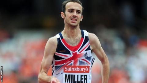 GB Paralympic 1500m runner Dean Miller