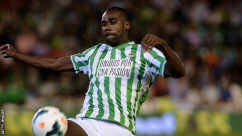 Real Betis defender Paulao