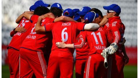 The England Under-19 team
