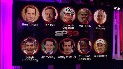 The shortlist of 10 contenders for the BBC Sports Personality of the Year award are revealed on the One Show