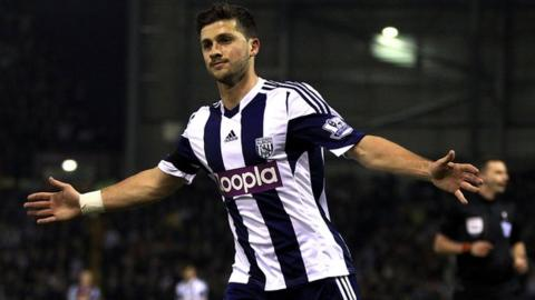 West Bromwich Albion and Republic of Ireland international striker Shane Long