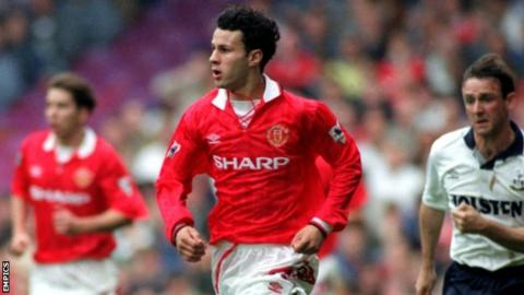 Ryan Giggs The Games The Goals And The Gongs Bbc Sport