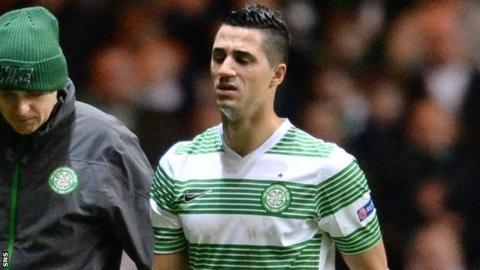 Celtic midfielder Beram Kayal