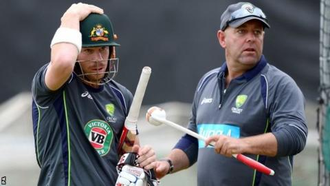 David Warner & Darren Lehmann