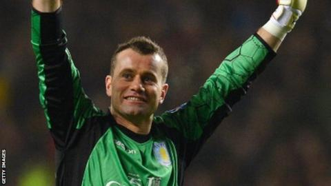 Goalkeeper Shay Given