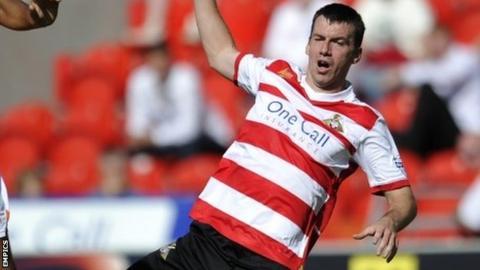 Doncaster's Paul Quinn