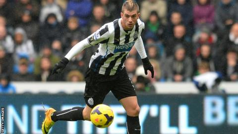 Newcastle defender Davide Santon