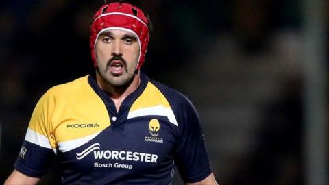 Worcester Warriors captain Jonathan Thomas