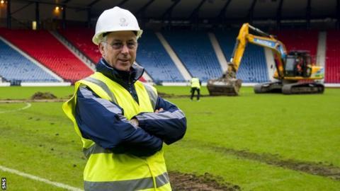 Ian McKenzie, Glasgow 2014's head of venues development