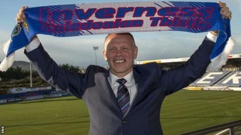 Inverness CT manager John Hughes