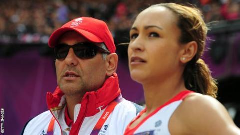 Jessica Ennis-Hill & Toni Minichiello