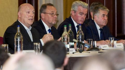 Jim McColl, Alex Wilson, Paul Murray and Malcolm Murray