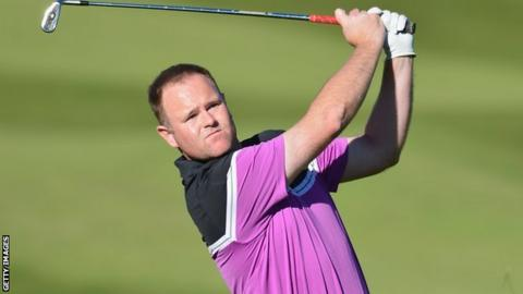 Scottish golfer Alastair Forsyth