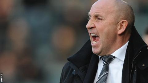 Southport's new manager John Coleman